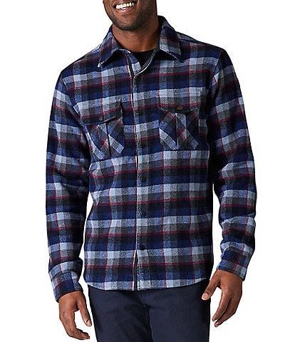 SmartWool Plaid Anchor Line Shirt Jacket