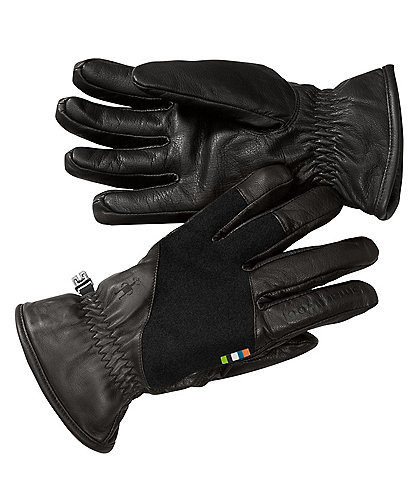 SmartWool Ridgeway Terry-Lined Leather Gloves