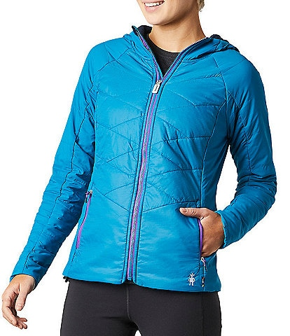 SmartWool Smartloft-X 60 Hoodie Full Zip Packable Jacket