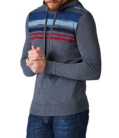 SmartWool Sparwood Striped Detail Hoodie Sweater