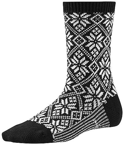 SmartWool Traditional Snowflake Crew Sock