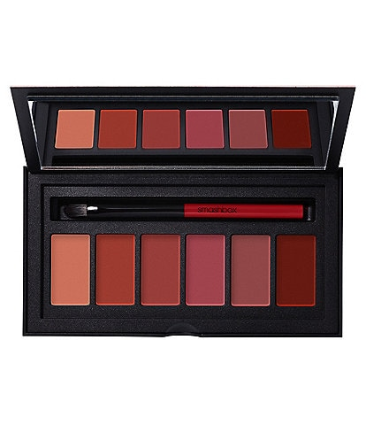 smashbox Beauty-To-Go Be Legendary Pucker Up Nude Lip Palette