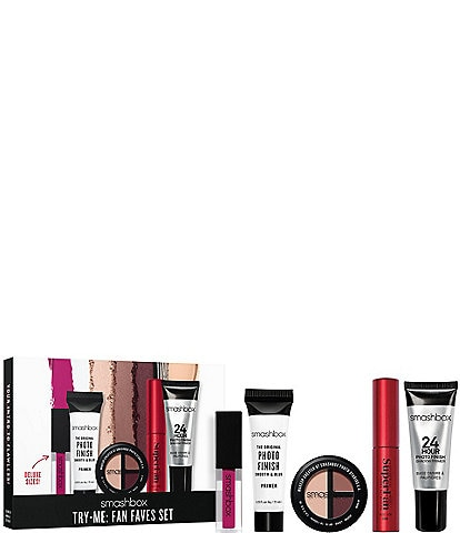 Smashbox Deluxe Sized Try-Me: Fan Faves Set