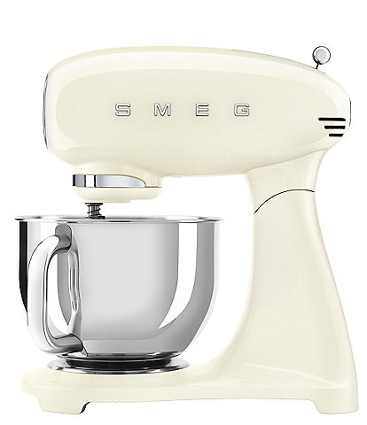 Smeg 50's Retro 5-Quart Stand Mixer with Stainless Steel Bowl (Model #SMF02)