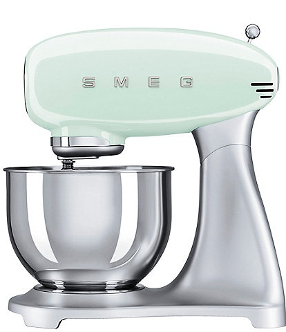 Smeg 50's Retro 5-Quart Stand Mixer with Stainless Steel Bowl (Model #SMF01)
