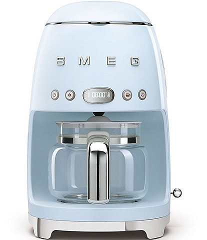 SMEG 50's Retro Style Aesthetic Drip Filter 10-Cup Coffee Maker