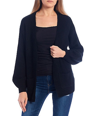 Love By Design Luxe Balloon Sleeve Cardigan