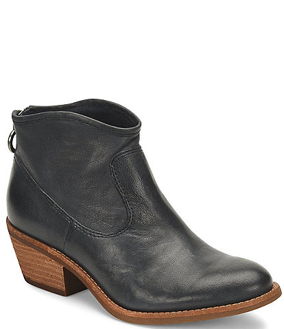 Sofft Aisley Unlined Leather Western Booties