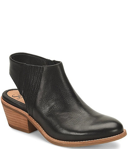 Sofft Arabia Leather Slingback Booties