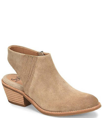 Sofft Arabia Suede Slingback Ankle Booties