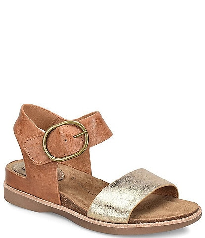 Sofft Bali Metallic Leather Sandals