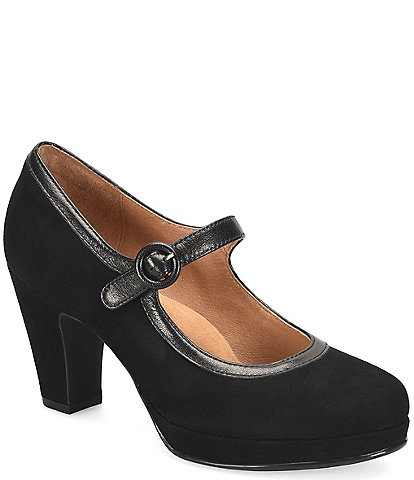 Sofft Grayling Suede Mary Jane Pumps