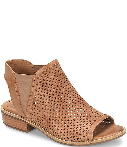 a89f018970 Sofft Nalda Leather Block Heel Sandals