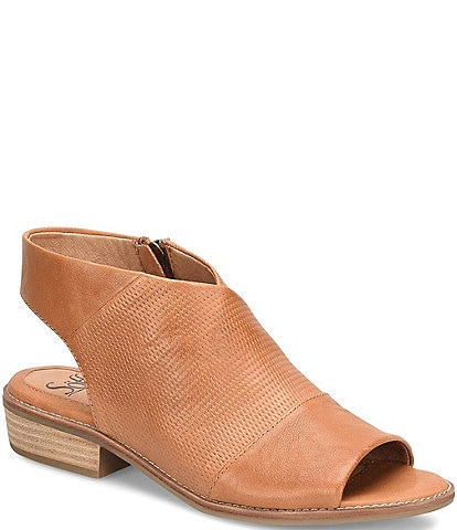 Sofft Natalia Perforated Leather Sandals