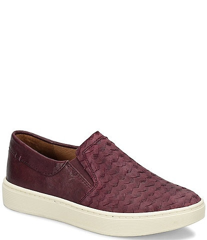 Sofft Somers III Exotic Print Slip-Ons