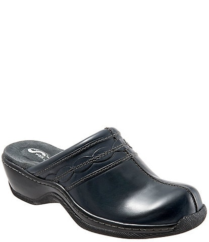 SoftWalk Abby Leather Clogs