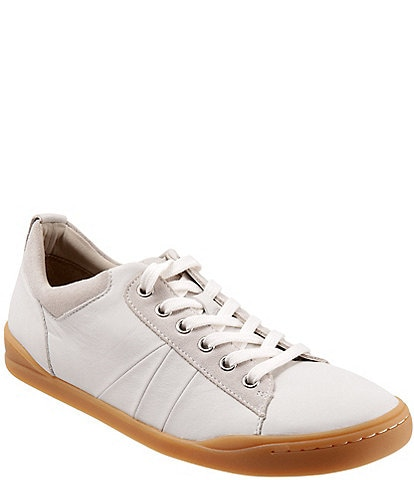 SoftWalk Athens Leather Lace-Up Oxford Sneakers