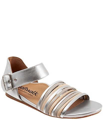 Softwalk Cori Metallic Multi Leather Sandals