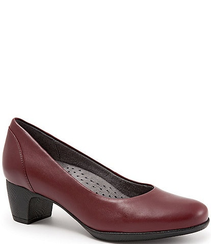 SoftWalk Imperial II Block Heel Pumps