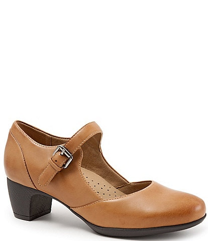 SoftWalk Irish II Mary Jane Block Heel Pumps