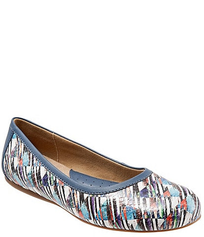 SoftWalk Napa Ballerina Slip-Ons