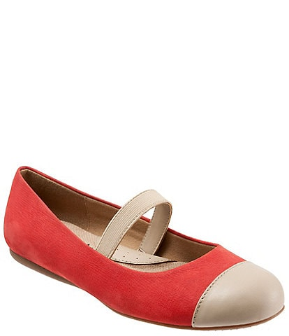 SoftWalk Napa MJ Cap Toe Mary Jane Slip-Ons