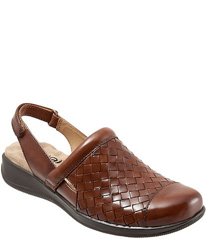 SoftWalk Salina Woven Sandals