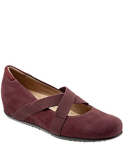 SoftWalk Waverly Hidden Wedge Mary Janes