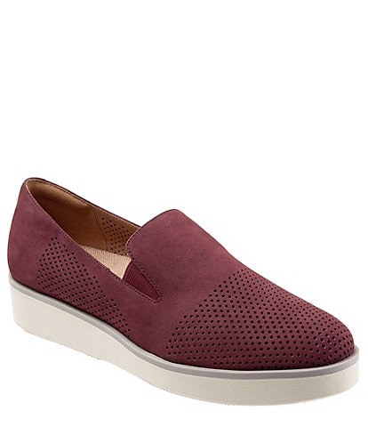 SoftWalk Whistle Suede Slip-On Sneakers