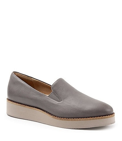 SoftWalk Whistle Leather Slip Ons