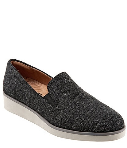 SoftWalk Whistle Wedge Slip Ons