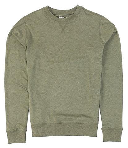 Solaris Active Aris Knit Long Sleeve Crewneck T-Shirt