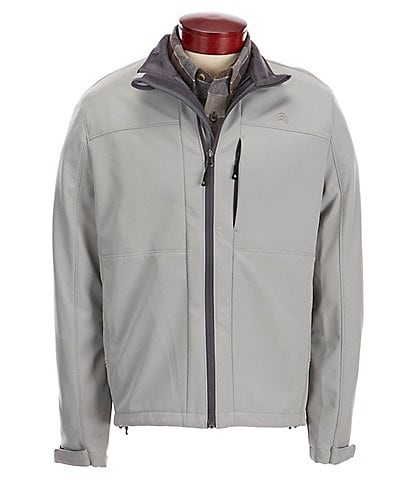Solaris Outdoor Big & Tall Softshell Water and Wind Resistant Jacket