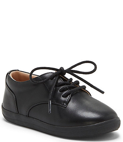 Sole Play Boys' Kaelan Leather Lace-Up Oxfords Infant