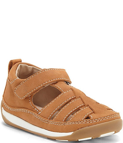 Sole Play Boys' Pavel Leather Lining Fisherman Sandals (Toddler)