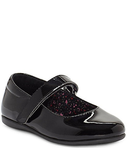 Sole Play Girls' Pax Patent Mary Janes Toddler