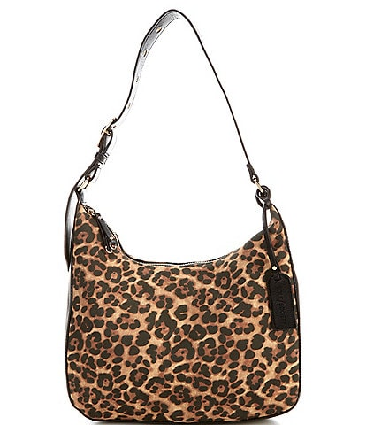 Sole Society Palva Leopard Hobo Bag