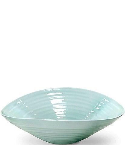 Sophie Conran for Portmeirion Porcelain Celadon Large Salad Bowl