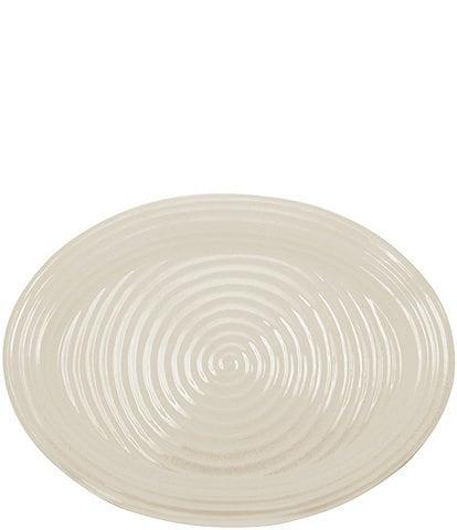 Sophie Conran for Portmeirion Porcelain Pebble Large Oval Platter