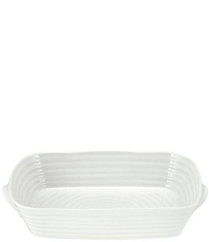 Sophie Conran For Portmeirion Porcelain Small Rectangular Roasting Dish