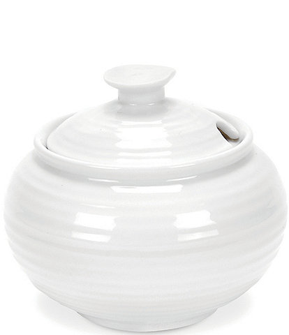 Sophie Conran for Portmeirion Porcelain Sugar Bowl with Lid