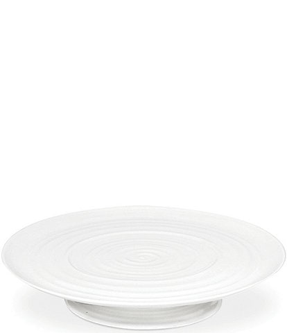 Sophie Conran for Portmeirion White Porcelain Footed Cake Plate