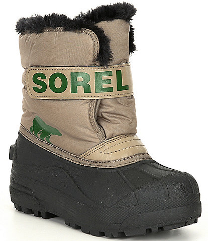 Sorel Kids' Snow Commander Waterproof Boots (Toddler)