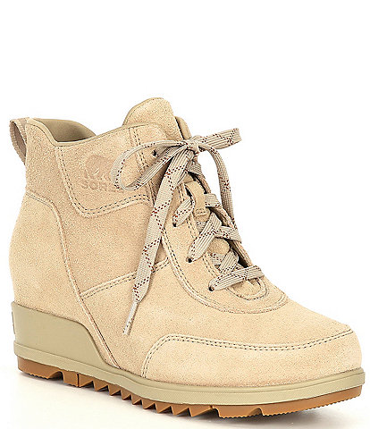 Sorel Evie Sport Lace Waterproof Wedge Booties
