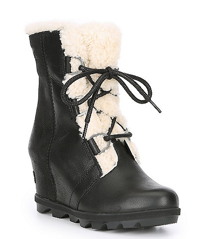 Sorel Joa Artic Waterproof Leather Wedge II Bootie