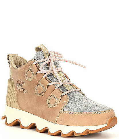 Sorel Kinetic Waterproof Leather Caribou Sneakers