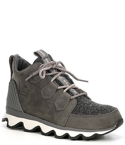 Sorel Kinetic Waterproof Leather Caribou Sneaker