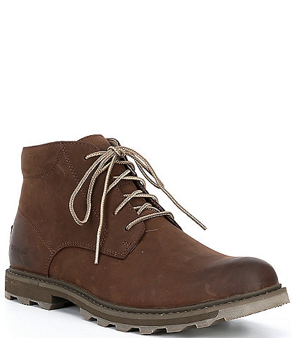 Sorel Men's Madson II Leather Chukka Waterproof Boots