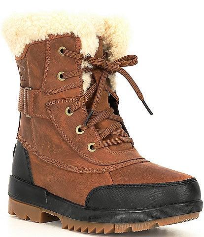 Sorel Tivoli IV Parc Waterproof Leather Lug Sole Winter Boots