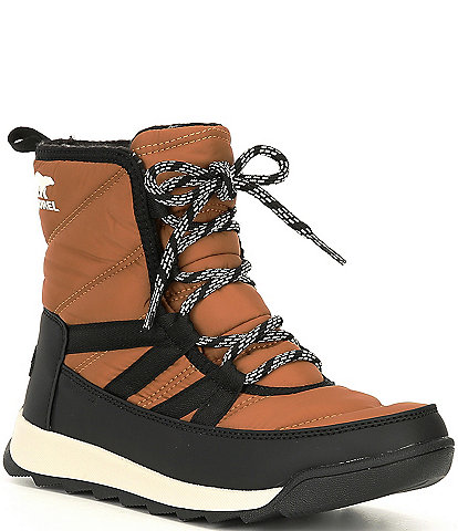 Sorel Whitney II Short Lace Nylon Waterproof Winter Booties
